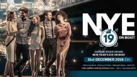 NYE Retro Cruise Party Budapest Hungary