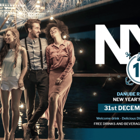 NYE Dinner Cruise & Retro Party in Budapest