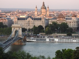 Budapest Chain Bridge by Gresham Palace BRC