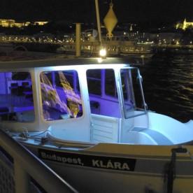 Clara – Private Boat Rental Budapest