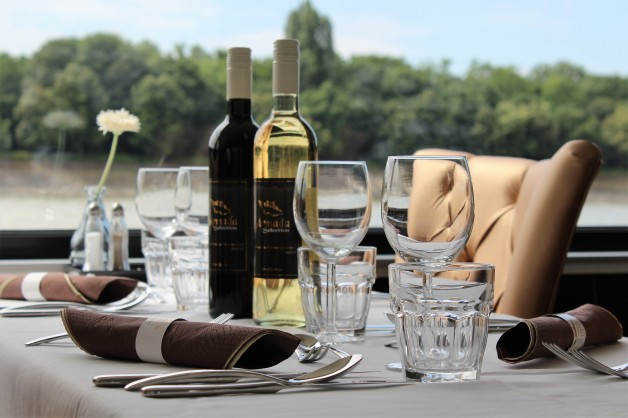 Buffet Menu Options on Budapest River Cruise  – Private Boat Rental Budapest