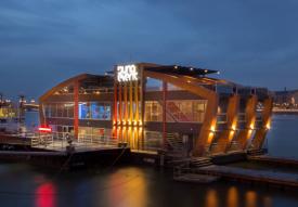 NYE Folk & Operetta Dinner on Standing Boat Venue