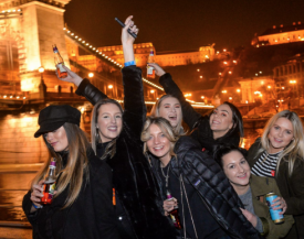 Budapest Party Cruise on Danube River