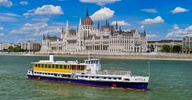 Attila Boat Private Event Rental Budapest River Cruise