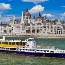 Attila Boat Tour Budapest
