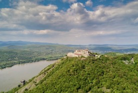 Danube Bend Hungary Visegrad Castle Ruins Budapest River Cruise Bus Tour
